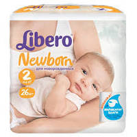 Подгузники Libero Baby Soft 3 4-9кг, 22 шт, либеро беби софт