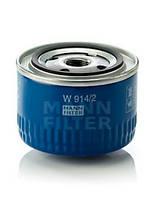 Фильтр масляный на ВАЗ 2108-2115, 2110-2112, Приора, Калина,Гранта  (MANN-FILTER)