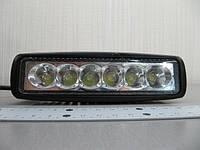Cветодиодная фара дальнего света LED 2218-18W-А spot