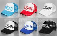 Кепка / Тракер Nike USATF (с сеточкой)