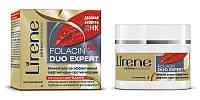 Инновационный питательный крем против морщин для лица, 50мл, Folacin 50+, Lirene