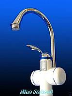Кран с электрическим водонагревателем для кухни и ванной, водогрейка, кран