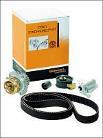 Contitech (Германия) - комплект ременя ГРМ: ролик натяжителя ремня и паразитный, обводной ролик и ремень
