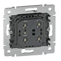 Светорегулятор кнопочный 40-400Вт, 240В Legrand Galea Life (775652)