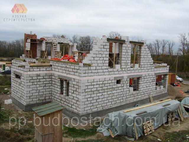 Построенные дома своими руками из пенобетона 473