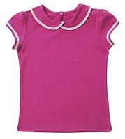 Блуза трикотажная с коротким рукавом детская