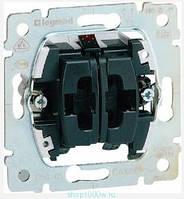 Выключатель 10АХ, 250В для рольставней с механическим блокированием 2-клавишный Legrand Galea Life (775804)