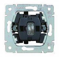 Выключатель (без фиксации) с подсветкой 10А, 250В 1-клавишный Legrand Galea Life (775813)