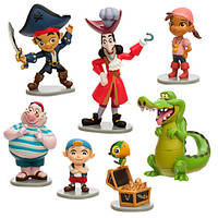 Игровой набор с фигурками Джейк и пираты Нетландии Disney
