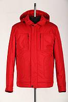 Удлиненные мужские куртки с капюшоном, отложным воротником