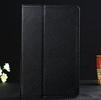 """[ Lenovo IdeaTab A8-50 A5500 ] Кожаный чехол-книжка для планшета Леново 8"""" черный"""