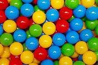 Шарики (мячики) для сухого бассейна мягкие, d=7,2 см