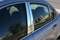 Mercedes C C-Class W204 W 204 Хром Хромовые накладки на дверные стойки комплект 6 штук новые