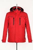 Короткая спортивная модель зимней куртки без меха
