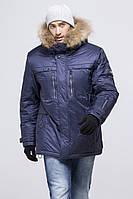 Зимние мужские куртки с капюшоном