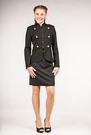 Пиджак школьный для девочки ТМ Фея Арт.П-66