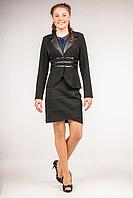Пиджак школьный для девочки ТМ Фея Арт.П-73