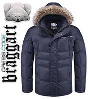 Зимняя мужская куртка с мехом купить 50размер