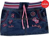 Джинсовая юбочка для девочки 1, 2, 3 года.Турция!!!