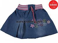 Джинсовая юбочка для девочки 1, 2  года.Турция!!!
