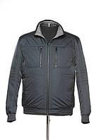 Двусторонняя куртка черного цвета для мужчин