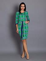 Стильное платье с манжетами