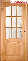 Межкомнатные двери ТМ Галерея Дверей Модель Капри ПО остеклённое