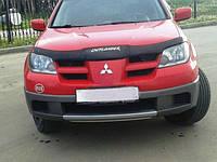 Дефлектор капота (мухобойка) Mitsubishi Outlander с 2001-2007г.в