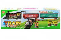Детская игрушечная железная дорога со световым и музыкальным эффектом MY-301