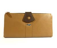 Кошелек кожаный Prensiti 405-116 коричневый  в наличии