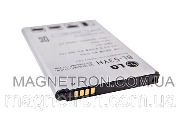 Аккумуляторная батарея BL-53YH Li-ion для мобильного телефона LG EAC62378901 3000mAh, фото 2