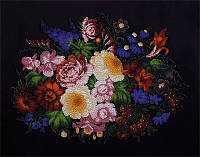"""Набор для вышивания бисером """"Жостовские цветы"""""""