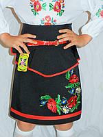 Юбка-вышиванка в украинском стиле для девочки
