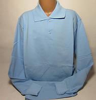 Рубашка поло для мальчика с длинным рукавом Размер 10 - 12 лет Разные цвета