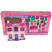 Домик для кукол My happy family 8037