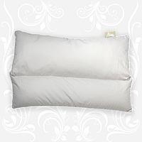 """Подушка для сна """"Гера"""" 40х60 с гречневой лузгой (шелухой) +холлофайбер, ткань - бязь"""