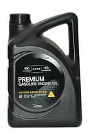 Моторное оригинальное синтетическое масло KIA/HYUNDAI 5W20