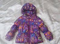 Женская детская куртка бантик на пуху , фото 1