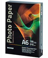 Для печати TECNO Premium Photo Paper CB A6 210g 100 pack Glossy