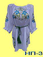 Жіноча вишиванка з коротким рукавом. Жіноча блузка з вишивкою.