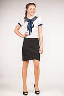 Юбка школьная для девочки-подростка, размеры 34, 36, 38, 40, 42. (Ю-78)