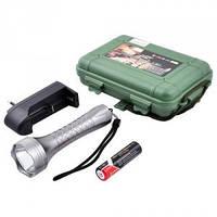 Недорогой качественный аккумуляторный фонарик police k186