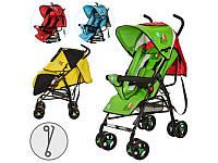 """Детская прогулочная коляска """"Страны мира"""" Bambi M 1701-1"""