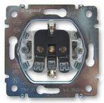 Розетка электрическая 2К+З (Французский стандарт) Legrand Galea Life (775928)