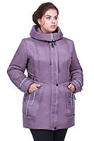 Оригинальная женская стильная зимняя куртка , фото 1