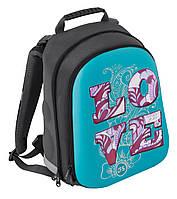 """Рюкзак школьный ортопедический каркасный EVA фасад 15"""" CFS85464 """"Love"""" Cool for school"""