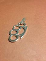 Кулон кастет / Серебро 925