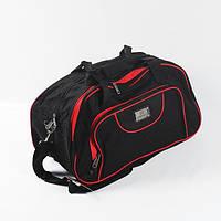 Дорожная сумка Elen Fancy - красная окантовка