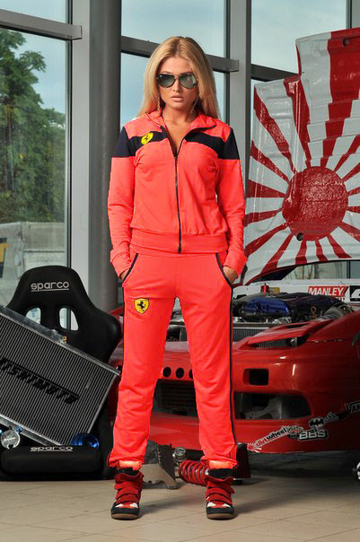 Костюм Ferrari Женский Доставка