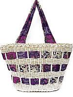 Красивая женская сумка-корзина (в расцветках)